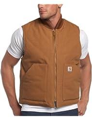Carhartt Veste hiver arctique veste doublée chaud V01, couleur:carhartt brun;pointure:S