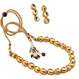 Zephyrr Kundan Necklace Earrings Jewelle...