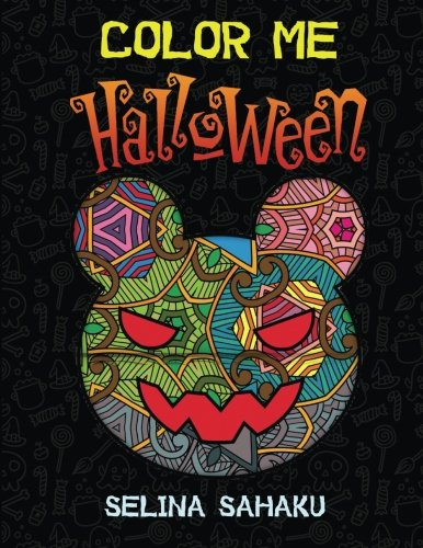 (Color Me Halloween: 25 Amazing Halloween images + 10 Extra Printable images)
