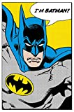 DC Universe Ich bin Batman 'Batman' Maxi Poster,61 x 91.5 cm