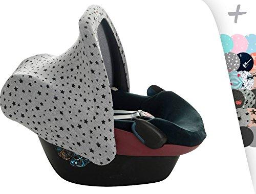 Janabebe® universal verdeck dach für maxi cosi babyschale gruppe 0