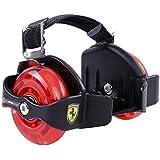 Ferrari Flashing Street Glider Wheels for Kids (Black)