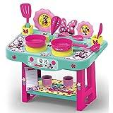 #1018 Kleine Kinder Spielküche mit Zubehör im Disney Minnie Design • Kinderküche Küchen Spielzeug Küche ELSA Anna