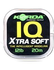 Korda IQ Extra Soft Fluorocarbon Hooklink 10lb - KORDA