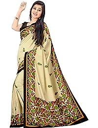 Samskruti Sarees Raw Silk Saree (Spas-1608_Beige)