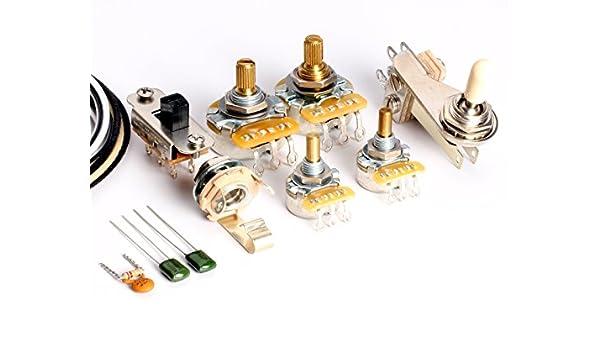 toneshaper Gitarre Verkabelung Kit, für Fender Jazzmaster: Amazon.de ...