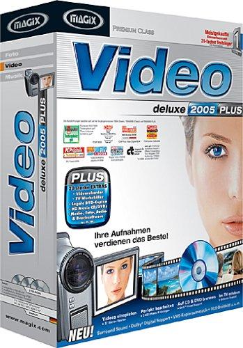 MAGIX Video deLuxe 2005 Plus