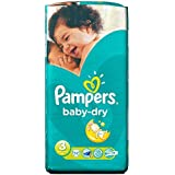 Pampers Baby Dry Taille 3 Midi 4-9kg (52) - Paquet de 2