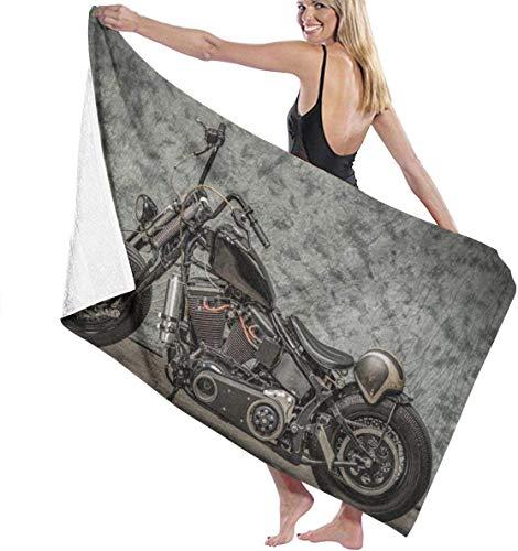 Harley Davidson Badetuch, tiefes Palpitations-Handtuch, 81,3 x 132,2 cm, extra saugfähig, schnelltrocknend, vielseitig einsetzbar zum Schwimmen, Fitness, Sport, Yoga.