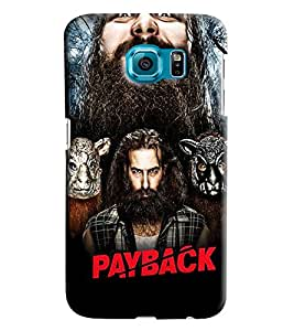 Blue Throat Payback Star Cast Printed Designer Back Cover For Samsung Galaxy S6 Edge