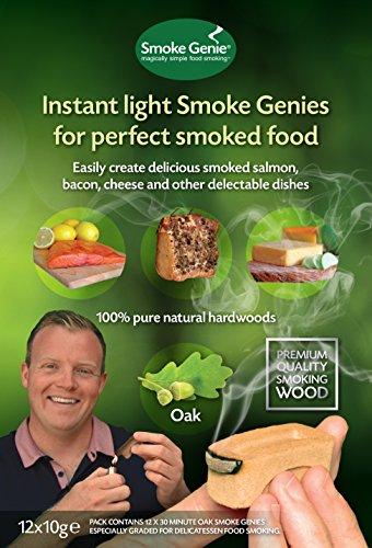 Smoke Genie in legno di quercia per