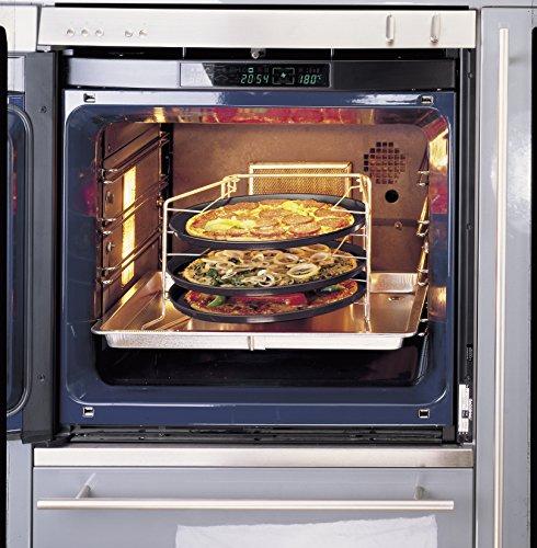 Zenker Pizzaset 3 Pizzableche mit Gestell - 3