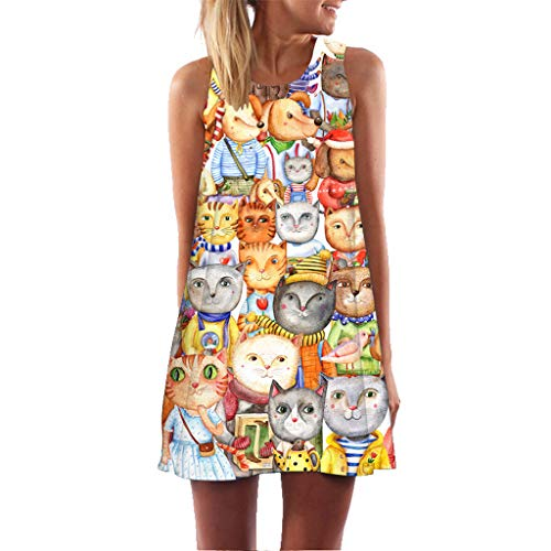 58426060e6 JYJM_Femmes Robe Manches Courtes en Vrac Chemise Loose Longue T-Shirt Midi  Robe Chemise Col