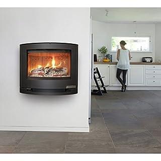 Aduro 15.3 Wood Burning Stove 6.5 kW Black DEFRA, High Efficiency Stylish Danish Design & Technology