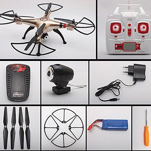 Syma X8HW (aggiornamento del popolare Syma X8W) 2.4GHz 6-Axis Gyro Wifi FPV con la macchina fotografica HD RC Quadcopter Drone (X8HW) - 9