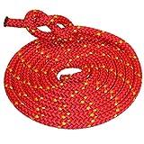 Hamburger Tauwerk Fabrik Outdoorseil Eco-PP - Rot mit Kennfaden - Allzweck Seil Ø 10mm Länge: 20m
