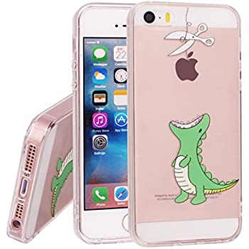 iphone se case. iphone se case 5 5s case, yoowei crystal clear tpu soft silicone gel iphone