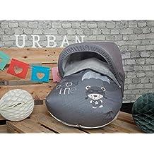 Babyline Paracaidista - Saco portabebé, color gris