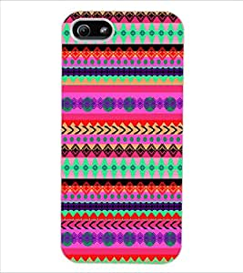 ColourCraft Tribal Pattern Design Back Case Cover for APPLE IPHONE 5
