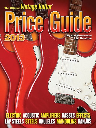 Official Vintage Guitar Price Guide 2013 (Official Vintage Guitar Magazine Price Guide)
