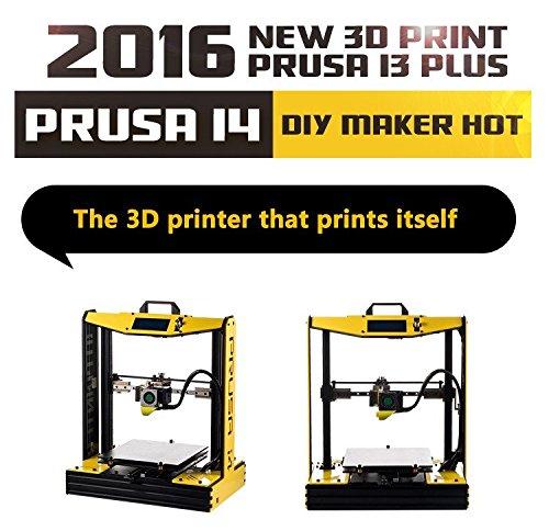 Prusa i4 upgrade 2016 di reprap prusa i3 stampante 3d fdm abs pla