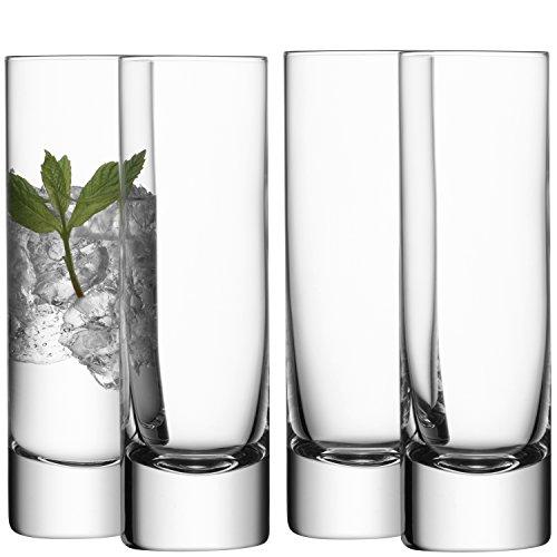 LSA International Longdrink-Gläser, 250ml, 4Stück