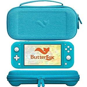 ButterFox Schlanke Tragetasche für Nintendo Switch Lite, 19 Spiele und 2 Micro-SD-Kartenhalter, Aufbewahrung für Switch…