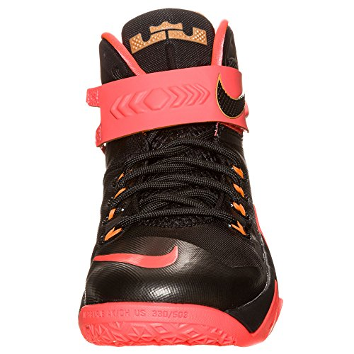 Nike Zoom LeBron Soldier VIII Grey/Hyper Punch 653641 363 BLACK/BLACK-ANTHRACITE