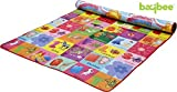 Baybee Baby Play & Crawl Mat - Double Sided - 100% Water Proof & Light Weight - (Size - 6' X 6' - Prints may vary)