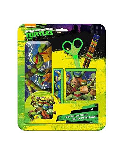 Tortugas Ninja Set de Estuche y portalapices
