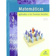 Matemáticas aplicadas a las ciencias sociales 2º Bachillerato - 9788497715317