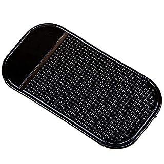 AsentechUK® 5 * universal Auto Anti Rutsch Pads Auto Armaturenbrett Skid Matte für Handy CD Elektronischer Geräte Handy(Schwarz)
