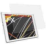 atFolix Schutzfolie kompatibel mit Alcatel One Touch Plus 10 Displayschutzfolie, HD-Entspiegelung FX Folie (2X)