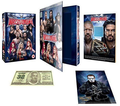 WWE: WrestleMania 32 - Ultimate Collector's Edition [DVD] [UK Import]