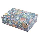 Creibo CBOX006, scatola in cartone grande decorata