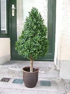 k nstlicher buchsbaum pyramide spitzenqualit t f r den gesch tzten au enbereich 1. Black Bedroom Furniture Sets. Home Design Ideas
