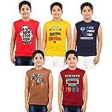 Desigrip Boy's Sleeveless T-Shirt