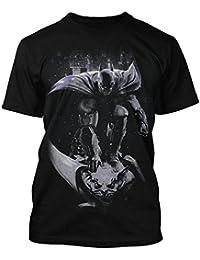 Batman-t-shirt-homme-gris-arkham origins en action