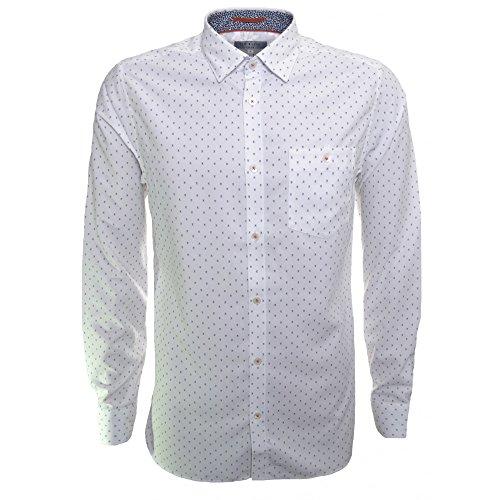 Ted Baker Men's White Evrytoo Long Sleeve Shirt white