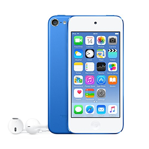 Produktbild Apple MKHE2FD / A iPod Touch 64GB Speicher blau