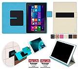 reboon Hülle für Dell Venue 10 Pro LTE 64 GB Tasche Cover Case Bumper | in Beige | Testsieger