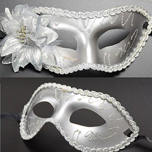 Liebespaar Maskerade Maske für Party Kostümball Hochzeit Halloween Kostüme für Frauen Mann (Freundin Kostüm Batman)