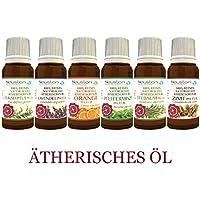 Neuston Healthcare Top 6 ätherische Öle EP - 100% naturrein 6×10 ml- Premium Pharmaqualität preisvergleich bei billige-tabletten.eu