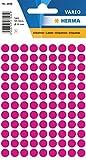HERMA Multi-purpose labels ø 8mm pink