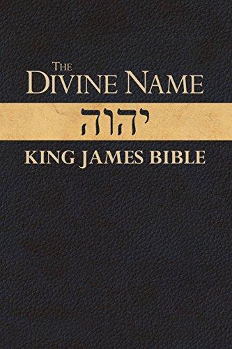 Divine Name King James Bible por Jack Davidson