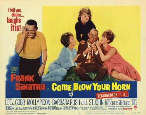 Come sopla su cuerno Póster de película 11x 14en–28cm x 36cm Frank Sinatra Lee J. Cobb Tony Bill Molly Picon Barbara Rush Jill St. John