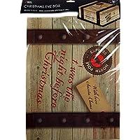 Large Keepsake Christmas Eve Pj Gift Box & Lid 45 x 34 x 12.5cm