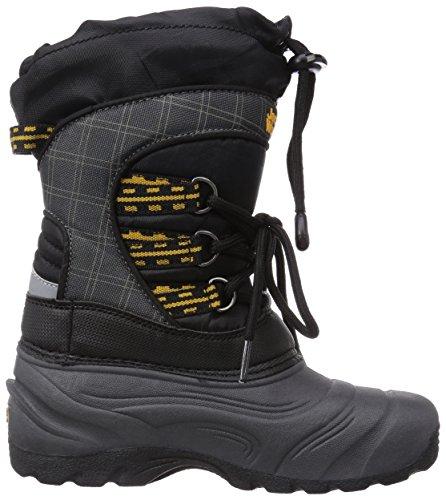Jack Wolfskin Kids Snowpacker, Boots mixte enfant Gris (Phantom 6350)