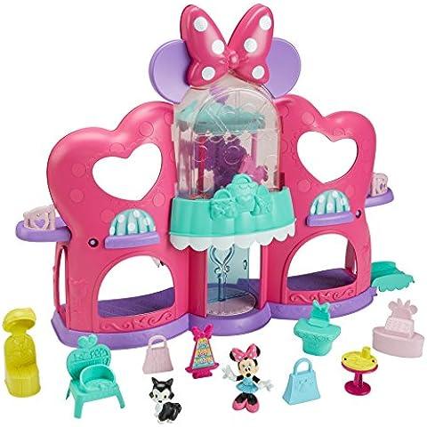Mattel Disney Minnie - Glam Shopping Mall - casas de muñecas