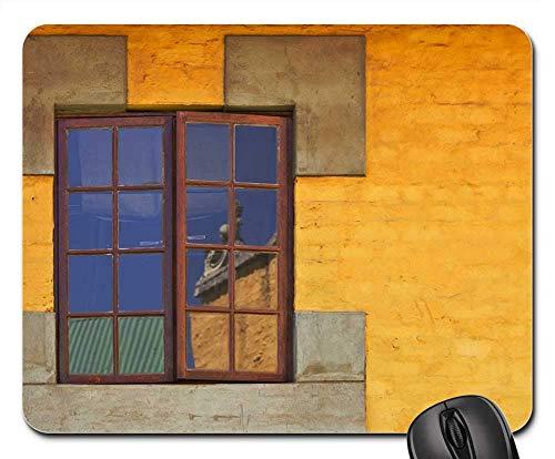 Mauspads - Fenster-Reflexions-Glasarchitektur-Ansicht-Vision